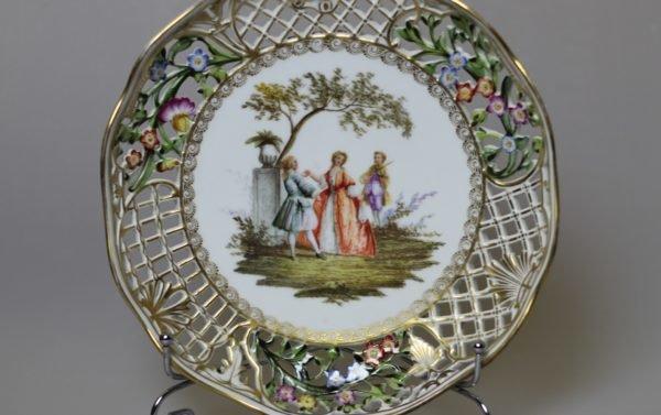 Тарелка Meissen