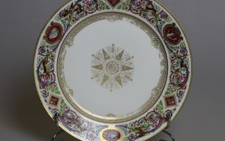 "Тарелка из сервиза дворца ""Фонтенбло"""