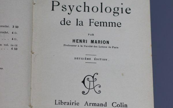 Книга Анри Марион